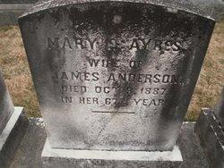 Mary E <i>Ayres</i> Anderson