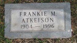 Frankie M <i>Brooks</i> Atkeison
