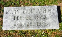 Mary Jane <i>Tuggle</i> Vining