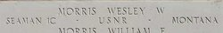 S1 Wesley W Morris
