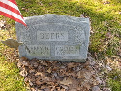 Carrie E. <i>Troutman</i> Beers