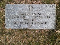 Carolyn M Doyle