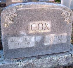 Margaret Lucinda <i>Cox</i> Cox