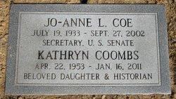Kathryn Lee Kathy <i>Coe</i> Coombs
