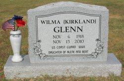 Wilma <i>Kirkland</i> Glenn