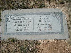 Ross S Armatage
