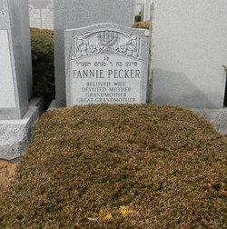 Fannie <i>Tobachnik</i> Pecker