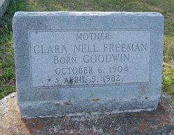 Clara Nell <i>Goodwin</i> Freeman