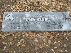 Bert Randolph Abendroth, Jr