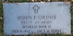 John F Orinis
