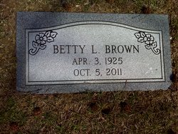 Betty Lee <i>Hitchings</i> Brown