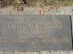 Joseph David Branson