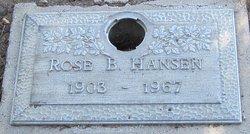 Rose B Hansen