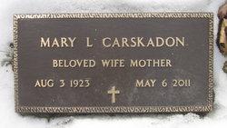Mary L <i>Tufts</i> Carskadon
