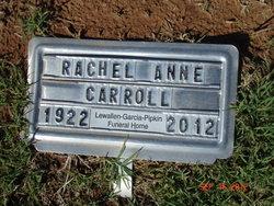 Rachel Anne <i>Petry</i> Carroll