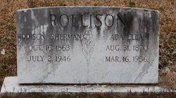 Addison <i>Sherman</i> Rollison