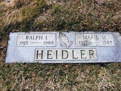 Marie M <i>Junker</i> Heidler
