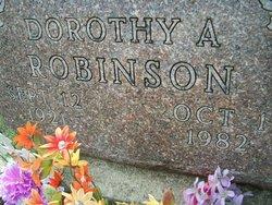 Dorothy A. <i>Lidster</i> Robinson