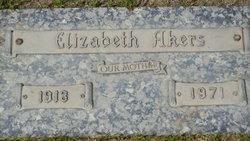 Elizabeth <i>Riddle</i> Akers