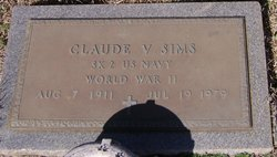 Claude V Sims