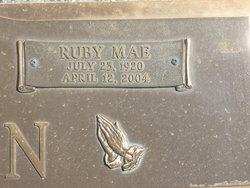 Ruby May <i>Braker</i> Agan