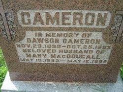 Mary <i>MacDougall</i> Cameron