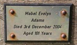 Mabel Evelyn Adams