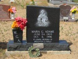 Maria <i>G.</i> Adame