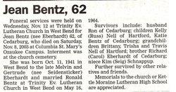 Jean <i>Eberhardt</i> Bentz