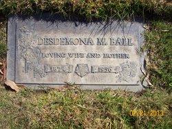 Desdemona May <i>Palen</i> Ball