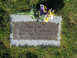Annie <i>Hodgins</i> Acton