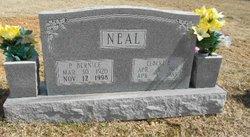 Pearl Bernice <i>Shoemate</i> Neal
