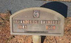 Frances Ann <i>Staggs</i> Barnett