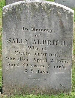 Sarah Sally <i>Persons</i> Aldrich