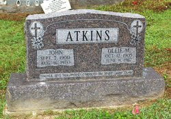 Ollie Mae <i>Jackson</i> Atkins