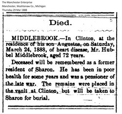 Hubbill Middlebrook