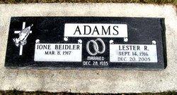 Lester Roy Adams