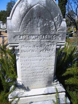 Capt William Barnes