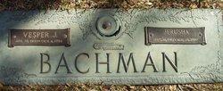Jerusha Maurine <i>West</i> Bachman