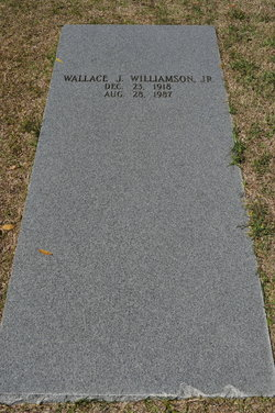 Wallace J Williamson, Jr