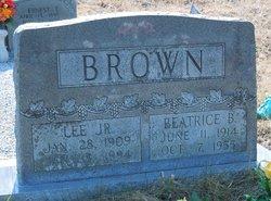 Beatrice B. Brown
