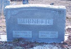 Marshall S Burnette
