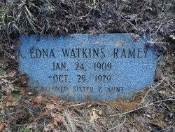 Edna <i>Watkins</i> Ramey