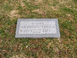 Miranda E <i>Parm</i> Taylor