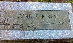 June Frances Bet <i>Masters</i> Kirby