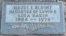 Maude E. <i>Eakin</i> Blount
