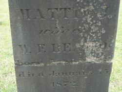 Mattie J Beard