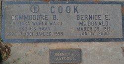 Commodore B. Cook