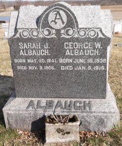 Sarah Jane <i>Valentine</i> Albaugh