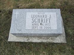 Leonard J. Schrift